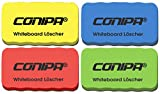 CONIPA® Whiteboardlöscher, magnethaftend, Farbe zufällig | Zur Trockenreinigung von Whiteboard, Planungstafeln, Glasboards