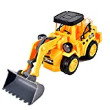 ALYHYB Bulldozer Spielzeug, Elektrotechnik Fahrzeug, Bauwucher mit Ton und Lichtprojektion, Spiel Fahrzeuge Traktor für 4 5 6 7 Jahre alte Kinder Kinder und Jungen