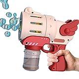 Seifenblasenmaschine für Kinder, Automatisches Seifenblasen Maschinen Seifenblasen Pistole für Outdoor Party Hochzeit, Keine Seifenlösung