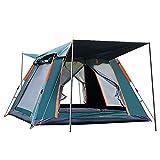 YQDHHD Camping Automatic Tent 3-4/5-6 Personen Familienzelt Picknick Reisen im Freien Regensicheres winddichtes Zelt zum Wandern Bergsteigen Park,S