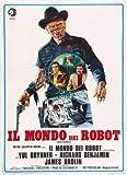 Westworld - YUL Brynner - Italienisch – Film Poster Plakat Drucken Bild – 30.4 x 43.2cm Größe Grösse Filmplakat
