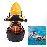 Ayobcwnd Unterwasser-Scuba Sea Scooter, Dual Speed Unterwasser-Propeller Wasserdichter 300W 6Km/H Elektrischer Tauchscooter Outdoor Sports Seascooter Für Erwachsene Schwimmen