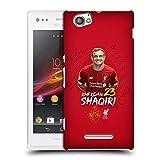 Head Case Designs Offizielle Liverpool Football Club Xherdan Shaqiri 2019/20 Erstes Team Gruppe 1 Harte Rueckseiten Handyhülle Hülle Huelle kompatibel mit Sony Xperia M/M Dual