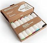 KERA® Bambus Lappen Tücher 7er Pack für Wohnen Küche Bad | Streifenfrei Extrem Saugstark Fusselfrei Kein Stinken | Alle Oberflächen | Umweltfreundlich | 60° Waschbar | 20 x 17cm