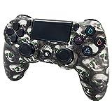 Jnsio Controller für PS4, Kabelloser Controller mit Dual-Vibration Rechargable Remote sechsachsigem Wireless Gamepad Gaming Controller
