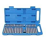 YUYAO 40 stücke Hexagon T Kit Werkzeugsatz 1/2 Zoll 3/8 Zoll Antriebsbit