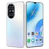 JNYB Mobiltelefone SIM Free freigeschaltet, Android 11 Smartphone, 6.3 '' Waterdrop-Bildschirm, Dual SIM + SD (3 Slot), Face/Fingerprint Entsperren, 2800mAh Batterie,Weiß