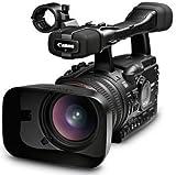 Canon XH A1 3-CCD HD-Camcorder (1,6 MP, 20-Fach opt. Zoom 7,1cm (2,8 Zoll) Display, Bildstabilisator) schwarz