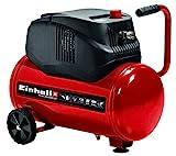 Einhell Kompressor TC-AC 200/24/8 OF (1.200 W., max. 8 bar, Druckminderer, öl-/servicefreier Motor, 24 l-Tank, vibrationsgedämpfter Standfuß, Rückschlag-/Sicherheitsventil)