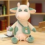 Plüschtiere, 35 / 50cm süßes Tier Kuhplüschspielzeug, Kuhplüschpuppen, Kinder-Cartoonspielzeug, Geburtstagsgeschenke 35cm grün