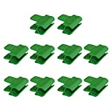Xiaorong Kunststofffolie Clips Gewächshauszubehör Gartenbedarf passend für 11m D