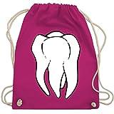 Shirtracer Sonstige Berufe - Zahnfee Kostüm - Unisize - Fuchsia - Zahnfee - WM110 - Turnbeutel und Stoffbeutel aus Baumwolle