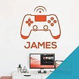 Wandaufkleber für Spielekonsole, Game Controller – XBox, Playstation, personalisierb