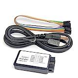 ZRYYD USB Logic Analyzer MCU Arm FPGA Debugging Tool 24M Probenahme 8