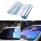 RONGSHU 0,5 * 3m / 0,75 m * 3M Autofensterfolien Front Fenster Sonnenschutzfolien Autoschutz Aufkleber Fenster Tinting Film (Size : 0.5Mx3M)