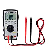 Voltmaster DMM 1 Digitales Multimeter CAT III 600 V, Multifunktionsmessgerät, Elektrikerwerkzeug (universell einsetzbar, großes LC-Display, Spannungs- und Strommessungen, aus ABS-Kunststoff), Grau