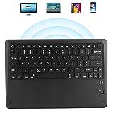 Telefontastatur, Computerzubehör Langlebige, leichte, leise tragbare Bluetooth-Tastatur für Zuhause für draußen für Tablet-Computer Mobiltelefone, Laptops(Black)
