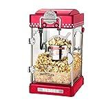 Lwieui Popcorn-Maschine Popcorn Machine Commercial Automatic Small Kinder Popcorn Maschine Elektrische Haushalt Kugelförmige Popcorn-Maschine Popcorn-Poppers. (Farbe : Red, Size : 25x28x46cm)