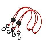 Umhängeband, verstellbar, Anti-Verlust, handliche und praktische Sicherheitsabdeckung und Aufhänger. - Rot - Large