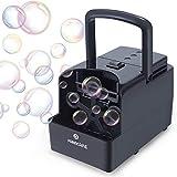 PANACARE Tragbare Automatischer Seifenblasenmaschine, Professional Blasenmaschine 1500+ Blasen pro Minute, Elektrisches Blasenspielzeug für Kinder/Hochzeit/Geburtstag Party