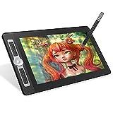 Festnight 16HD Pro Portable 15,6-Zoll-H-IPS-LCD-Grafik-Zeichen-Tablet-Anzeige Digital Art Drawing Pad 8192 Druckpegel Passive Technologie Anpassbare Tastenkombinationen Tasten Dial Controller