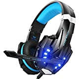 Gaming Headset, Gaming-Kopfhörer mit Mikrofon, Bass-Stereo-Surround, kompatibel mit PS4 / Xbox One/PC/Laptop/Nintendo Switch und Mobile