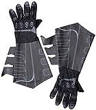 Rubie's 30738 Offizielles Batman Handschuhe für Erwachsenen-Kostüm, Einheitsgröße, Schw