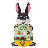 ERHETUS Osterhasen-Anhänger zum Basteln, für Festivals, Wände, Türen, Kaninchen, dekorative Häng