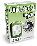 Vorleseprogramm (2021) und TTS-Software zum Text in Sprache umwandeln - Text vorlesen lassen für Word, PDF, eBooks, E-Mails, TXT, Internetseiten usw. Auf Wunsch kann die Vorlesesoftware auch Text in MP3 konvertieren