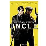 YXFAN Der Mann von Uncle (2015) Vintage Film Poster und Drucke Home Wohnzimmer Leinwand Malerei Wandbild Kunstwerk Dekoration-50x70cm No Frame