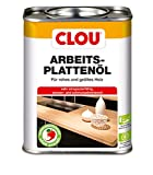 Clou Arbeitsplatten-Öl für rohes und geöltes Holz, wasserabweisende und abriebfeste Öl-Wachs-Kombination, 750