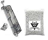 VIKING GEAR XXL Set 5000 BB Softair BBS 20 g Premium BB Kugeln 6mm Airsoft inklusive Speedloader, BB weiß