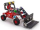 A ALEXANDER 2329 Constructor Kramy Radlader Metall Bausatz, 182 Teile Metallbaukasten, Metallbausatz mit Baufahrzeug, Werkzeug und Kunststoff Elementen, Konstruktionsspielzeug für Kinder ab 8 Jahre