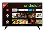 Telefunken XF32AJ600 32 Zoll Fernseher / Android TV (Full HD, Triple-Tuner, Smart TV, Bluetooth) [Modelljahr 2021], Schwarz