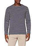 Armor Lux Herren Marinière Houat Héritage Homme T-Shirt, Mehrfarbig (Navire/Nature 429), XXL