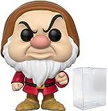Disney: Schneewittchen und die sieben Zwerge – Grumpy Funko Pop! Vinyl-Figur (inklusive kompatibler Popbox-Schutzhülle)