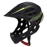 LBHH Fahrradhelm Fahrradbalance-Rollschuhe mit Nachtlicht Fahrradhelm mit leichtem Helm für Kinder Helmgröße einstellbar atmungsaktiv Helm Fahrradhelm Kinder Skaterhelm Verstellbar für 3-13 Jahre