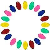 20 x Nadeleinfädler, Magnesis-Nadeleinfädler für Handnähen, Kunststoff-Draht-Schlaufe, DIY, einfacher Nadeleinfädler, Handmaschinen-Nähwerkzeug zum Nähen