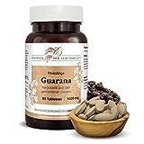 Guarana Tabletten 1000 mg, 85 Tabletten, Premium Qualität, Hergestellt in Österreich, Tabletten statt Kapseln, Vegan, Koffein