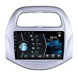 AEBDF Android 10.0 Auto-Stereo-Radio 7-Zoll-Touchscreen in Dash GPS-Navigationsunterstützung WiFi Bluetooth Mirror Link SWC OBD für Chevrolet Spark,4 Core WiFi 2+32 (Ultra Thin)