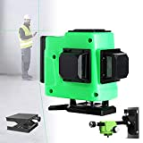 ORPERSIST Horizontal Laser Wasserwaage, 16 Draht GrüN Laser Wasserwaage, GebäUde Messung Laser-Linie, HochpräZise Lichtquelle, Neigung