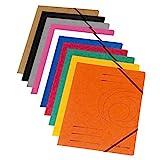 herlitz 11166816 Eckspanner A4 'Quality', farbig sortiert, 10 Stück