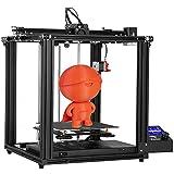 Creality Ender 5 Pro 3D Drucker mit Silent Motherboard Upgraded Metal Feeder Extruder und Capricorn Bowden PTFE-Schlauch 220x220x300 Druckgröße