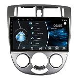 Autoradio Kompatibel mit Apple Carplay, kapazitiver 9-Zoll-Full-HD-Touchscreen für Chevrolet Optra Bluetooth, Mirror Link, Rückfahrkamera,6 Core WiFi 4G 2+32(1din)