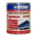 Wilckens 2,5 L. Wetterschutzfarbe, Anthrazitgrau RAL 7016 Seidenglänzend, Innen & Auß