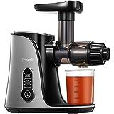 Entsafter Brewsly Slow Juicer für Gemüse und Obst mit 2 Geschwindigkeiten, 3 Mode, BPA-Frei, Leiser Motor & Umkehrfunktion, Leichte Reinigung, 150W