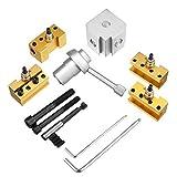 JINKEBIN Drehmaschine Quick Change Stifthalter Kit Set Werkzeughalter Bohrstange Drehwerkzeughalter Compatible with CNC-Drehmaschine Werkzeug drehen.