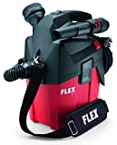 Flex 230/CEE Werkstattsauger VC MC (1200 Watt, kompakter Trockensauger mit Tragegurt, Behälter 6 l, Sauger mit Gerätesteckdose, inkl. Zubehör) 481513