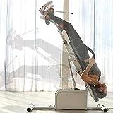 SKYWPOJU Inversionsbank, Schwerkrafttrainer klappbar für Zuhause Klappbar Inversion Table Streckbank Rückendehner zur Schmerzlinderung
