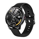 LEMFO Smartwatch Herren 1.3 Zoll Touchscreen smart Watch fitnessuhr mit personalisiertem Bildschirm, Herzfrequenz, Schrittzähler, Kalorien. IP68 Wasserdicht Fitness Tracker Sportuhr für I